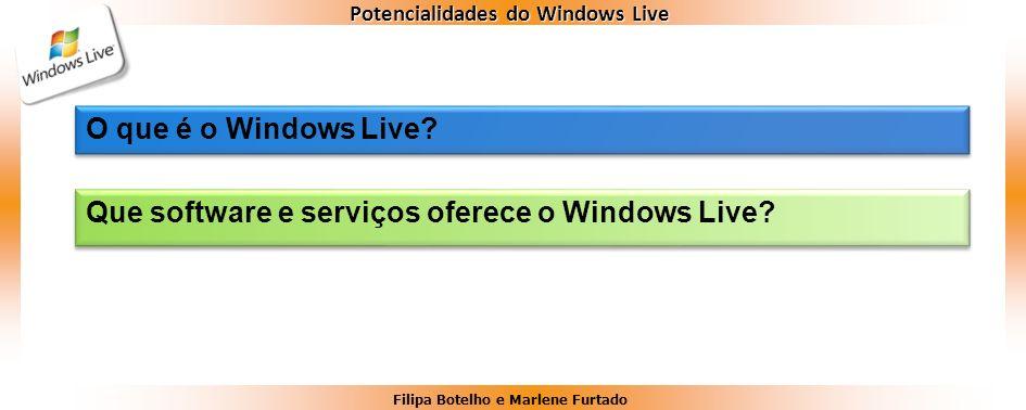 O que é o Windows Live Que software e serviços oferece o Windows Live