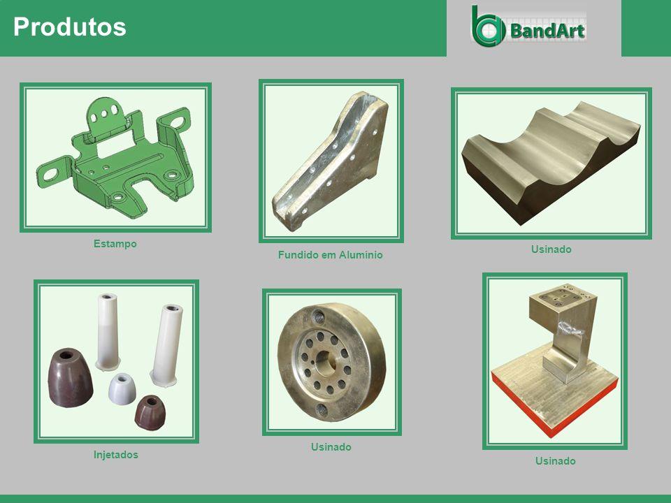Produtos Estampo Usinado Fundido em Alumínio Usinado Injetados Usinado