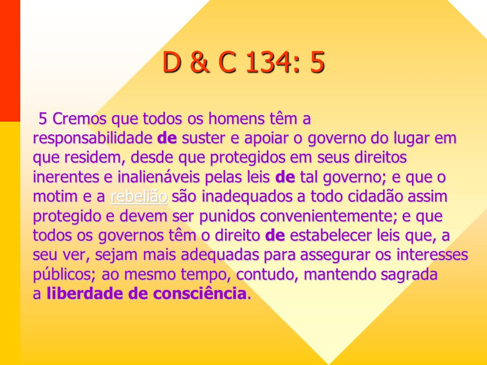 D & C 134: 5