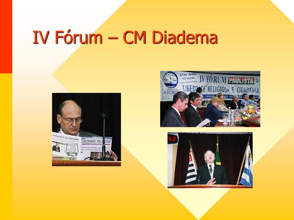 IV Fórum – CM Diadema