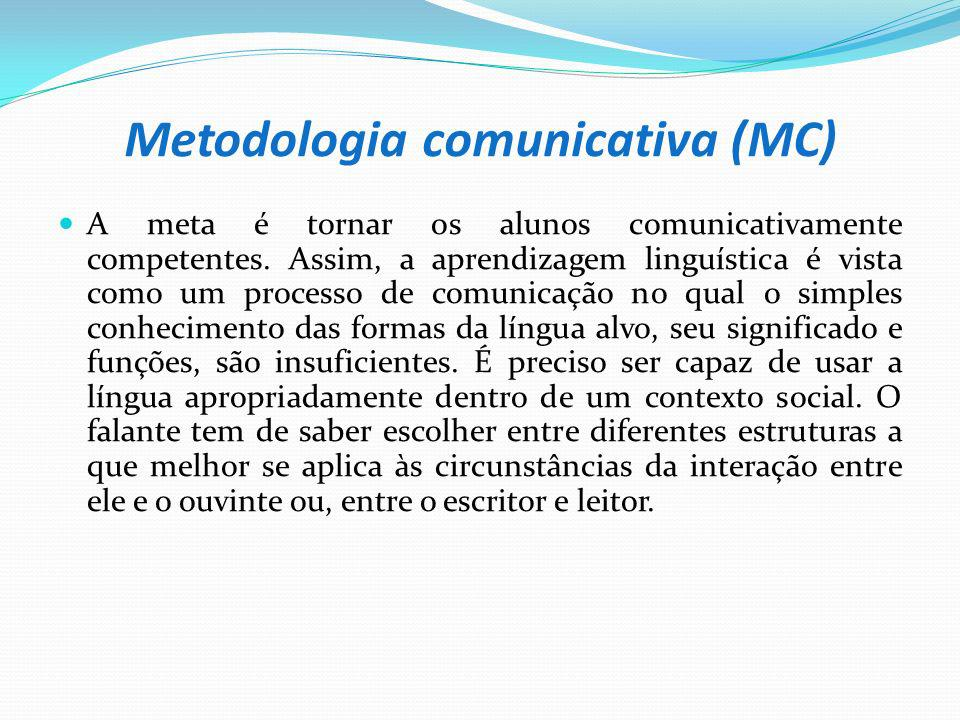 Metodologia comunicativa (MC)