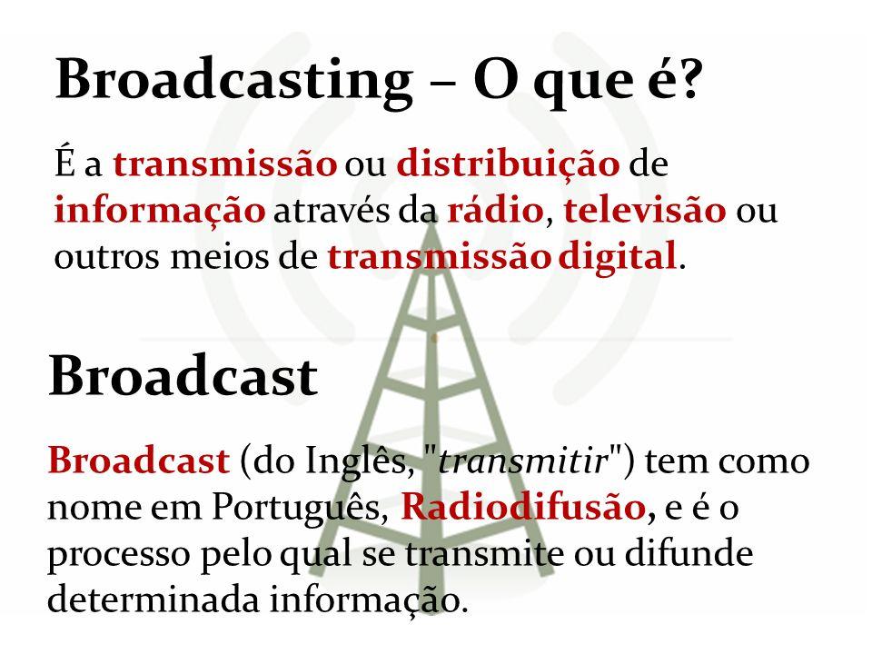 Broadcasting – O que é Broadcast