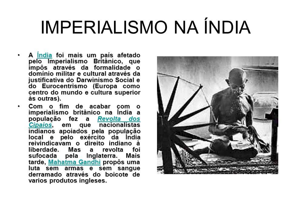 IMPERIALISMO NA ÍNDIA