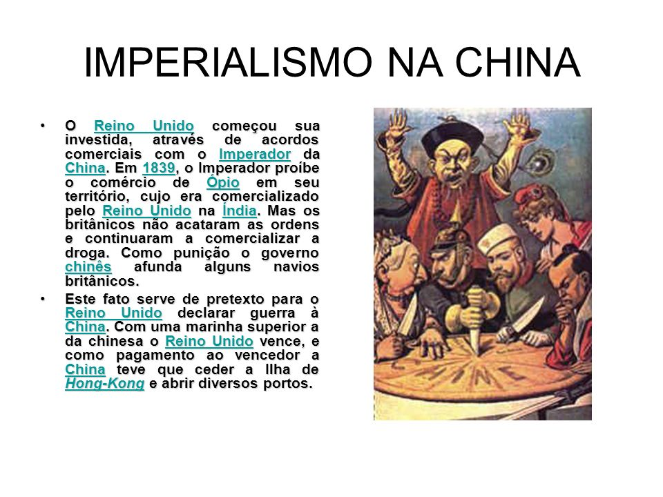 IMPERIALISMO NA CHINA