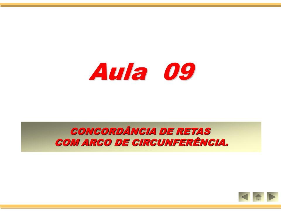 COM ARCO DE CIRCUNFERÊNCIA.
