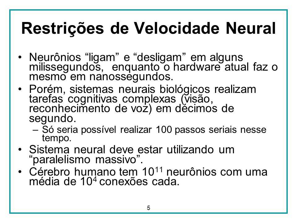 Restrições de Velocidade Neural