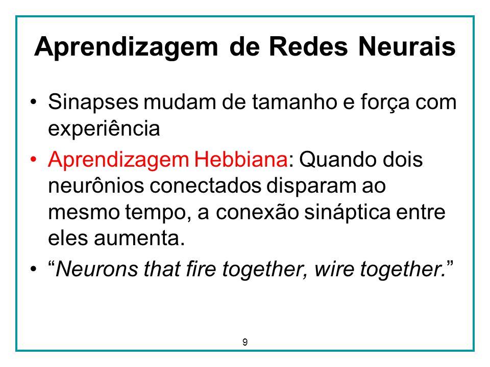 Aprendizagem de Redes Neurais