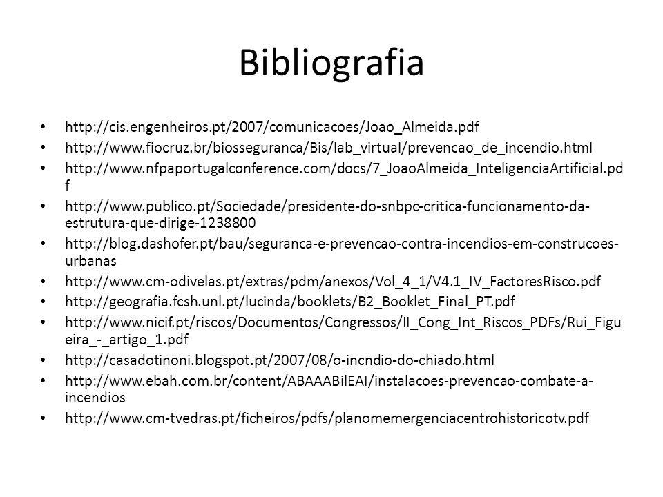 Bibliografia http://cis.engenheiros.pt/2007/comunicacoes/Joao_Almeida.pdf.