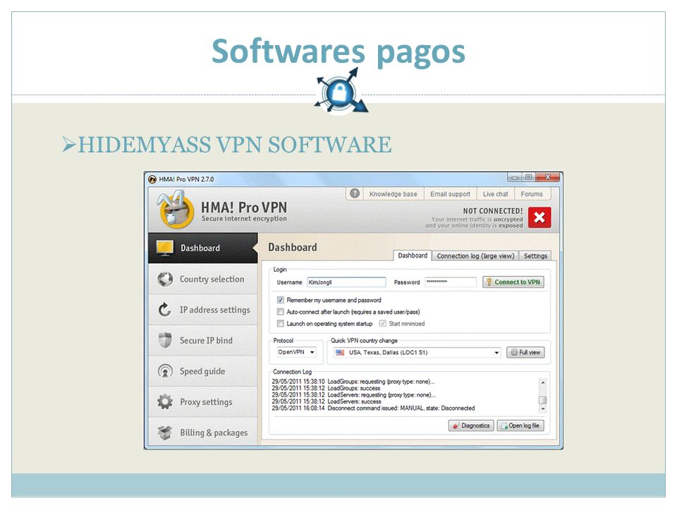 Softwares pagos HIDEMYASS VPN SOFTWARE