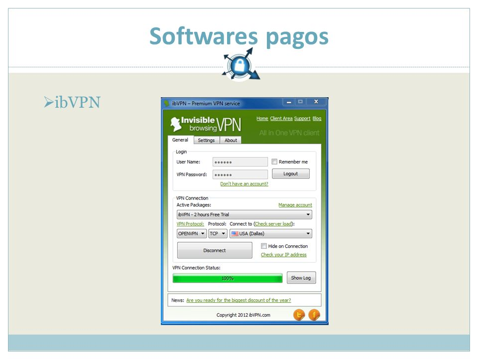 Softwares pagos ibVPN