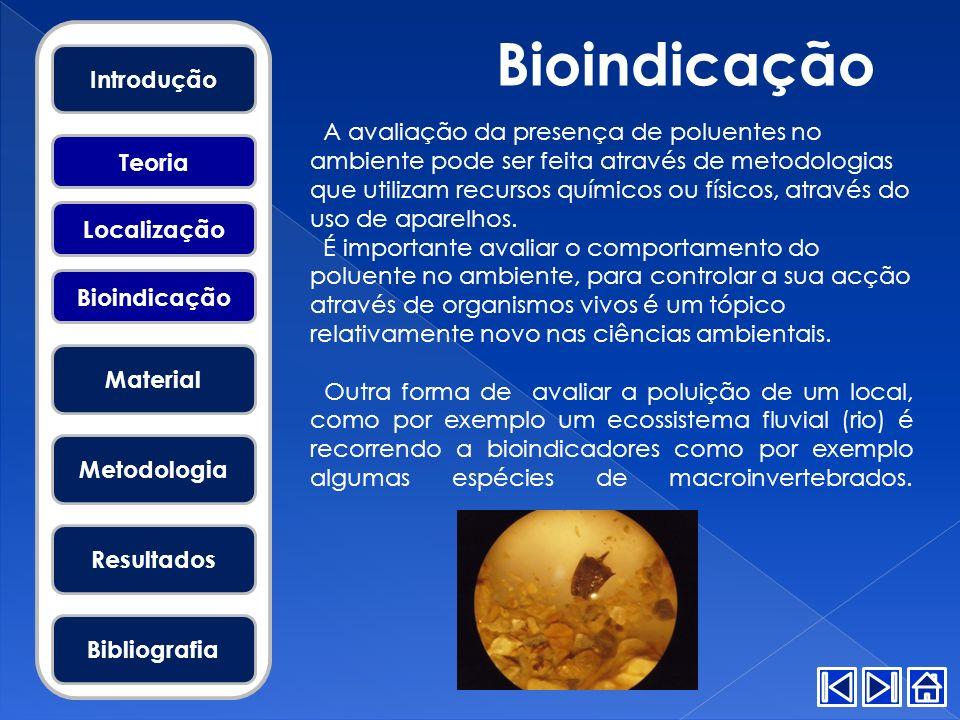 Bioindicação Introdução