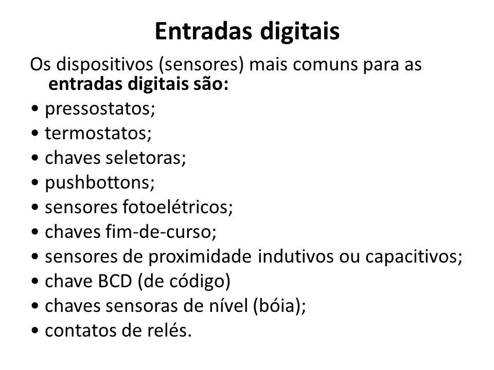Entradas digitais