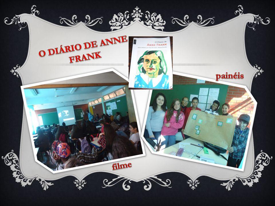 O DIÁRIO DE ANNE FRANK painéis filme