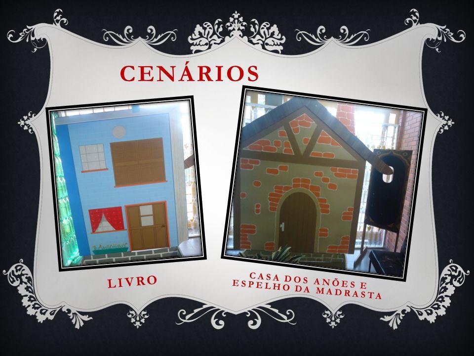 Casa dos anões e espelho da madrasta