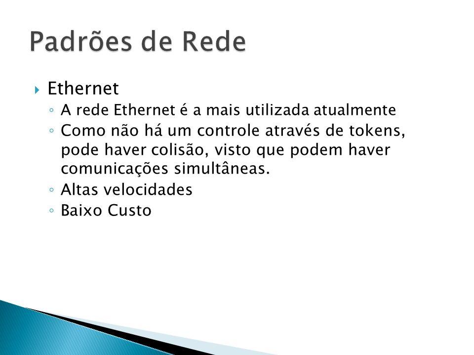 Padrões de Rede Ethernet