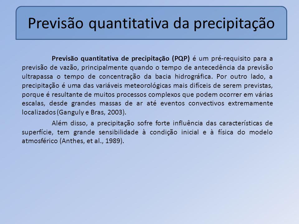 Previsão quantitativa da precipitação