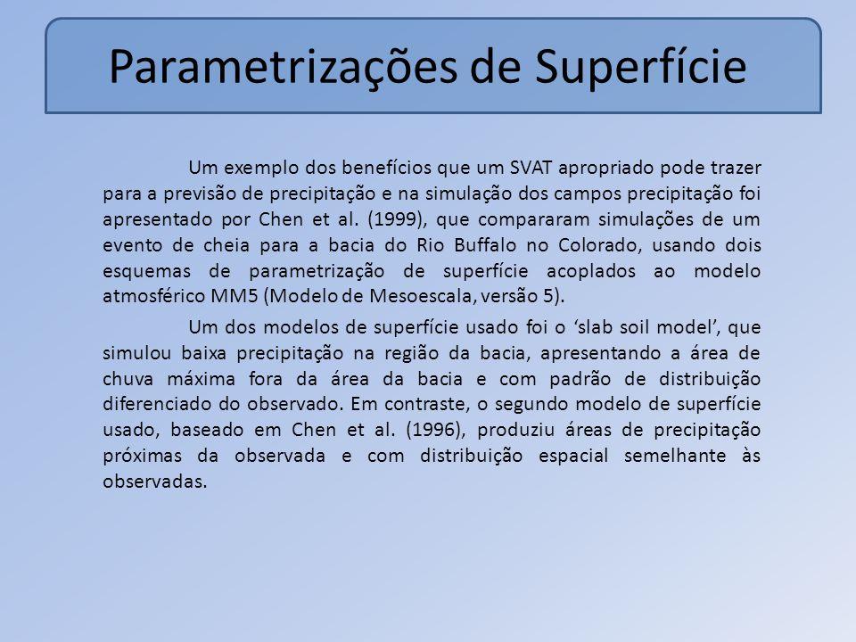 Parametrizações de Superfície