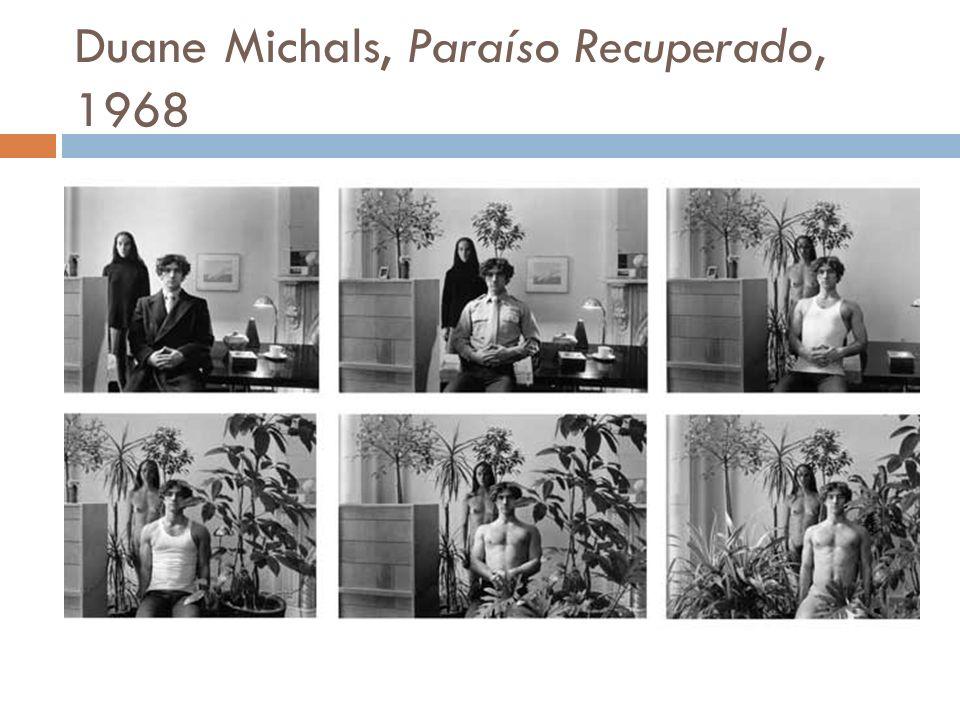 Duane Michals, Paraíso Recuperado, 1968