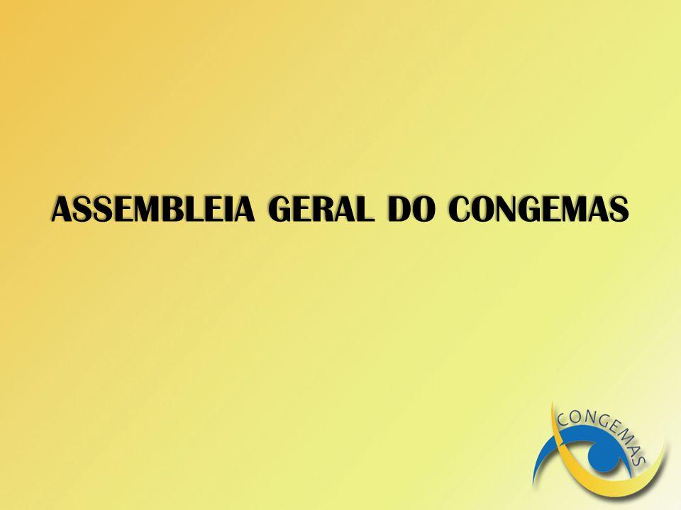 ASSEMBLEIA GERAL DO CONGEMAS