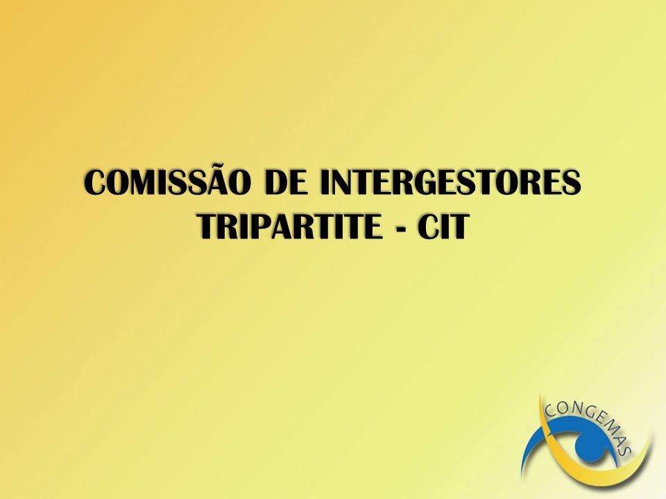 COMISSÃO DE INTERGESTORES TRIPARTITE - CIT
