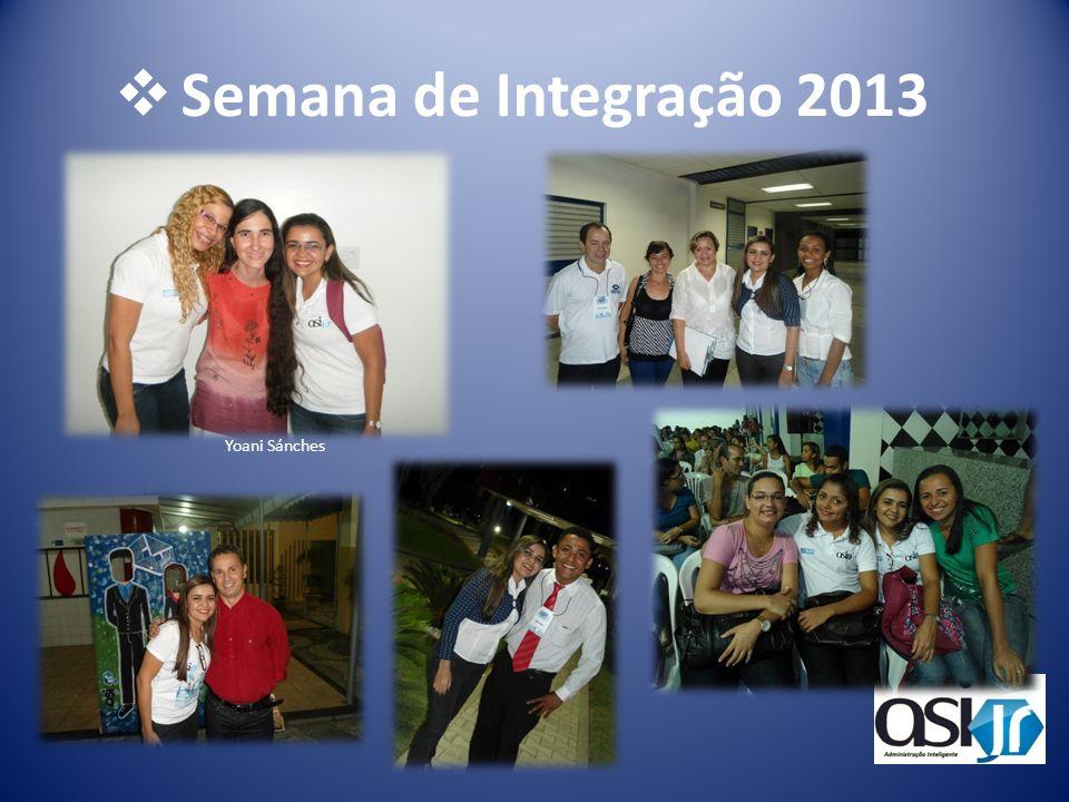 Semana de Integração 2013 Yoani Sánches