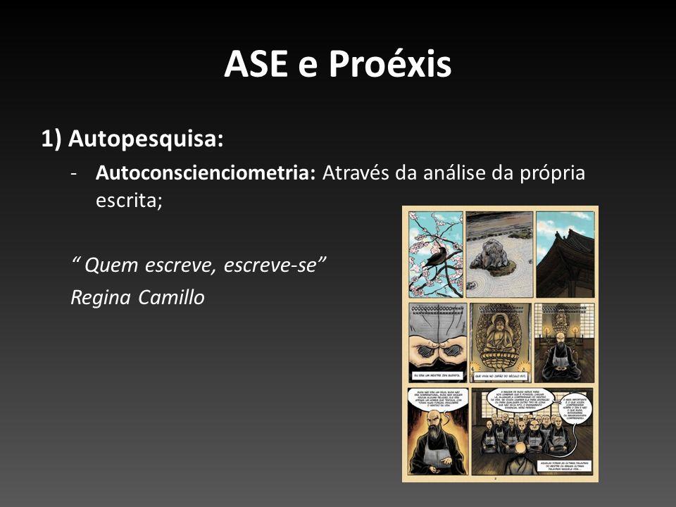 ASE e Proéxis 1) Autopesquisa: