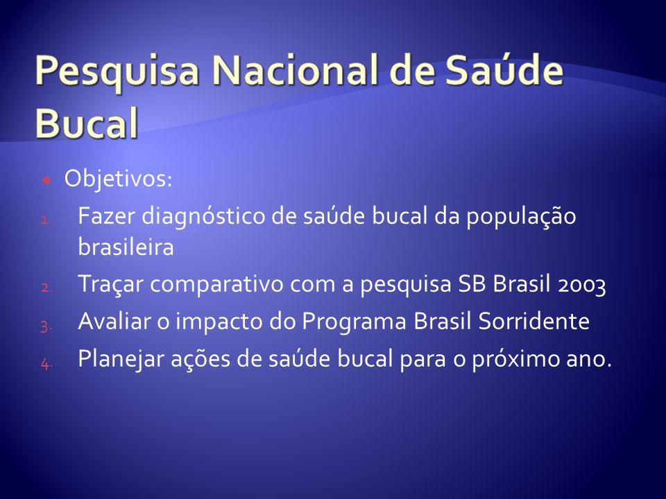 Pesquisa Nacional de Saúde Bucal