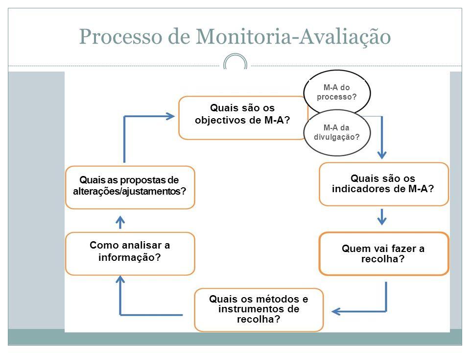 Processo de Monitoria-Avaliação