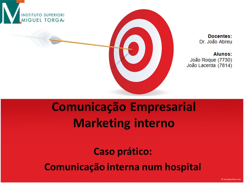 Comunicação Empresarial Marketing interno