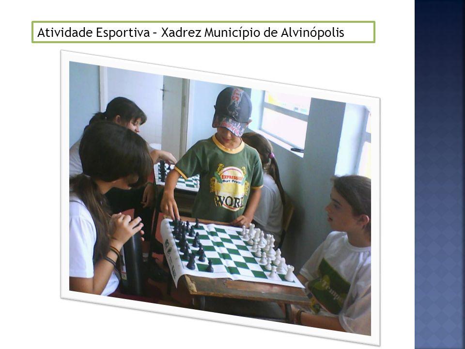 Atividade Esportiva – Xadrez Município de Alvinópolis