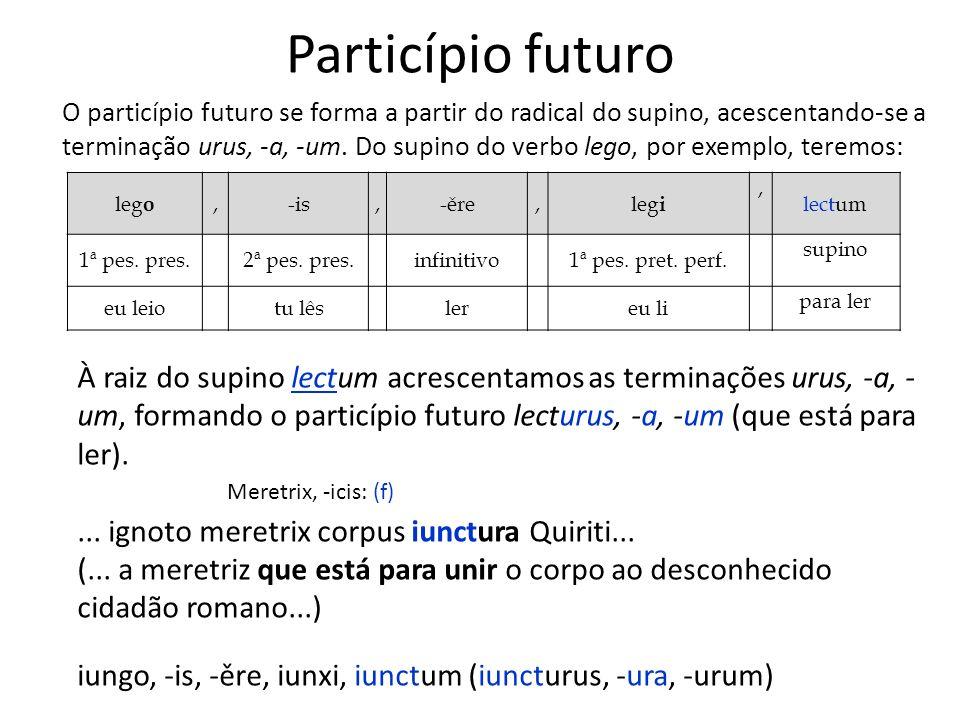 Particípio futuro