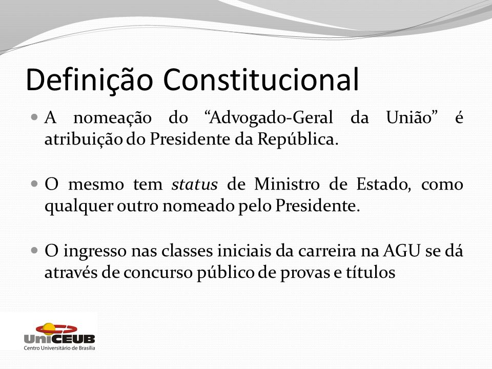 Definição Constitucional