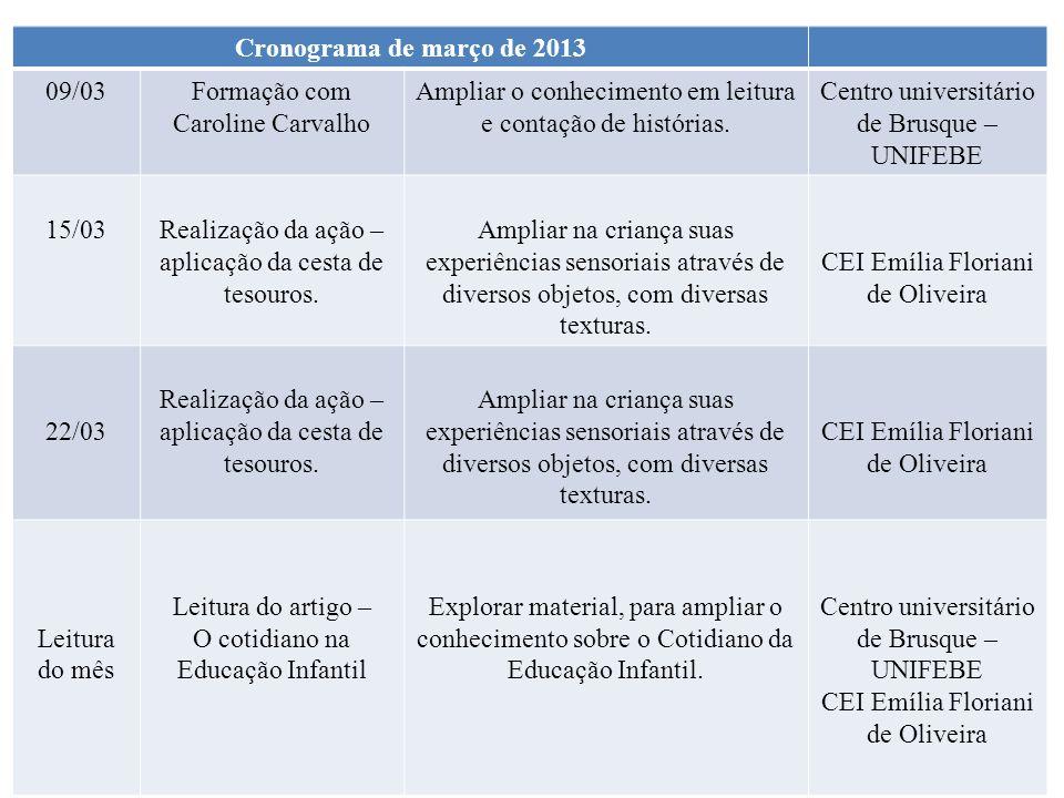 Formação com Caroline Carvalho