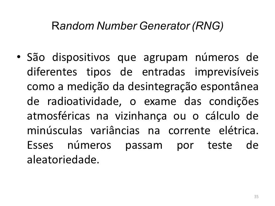 Random Number Generator (RNG)