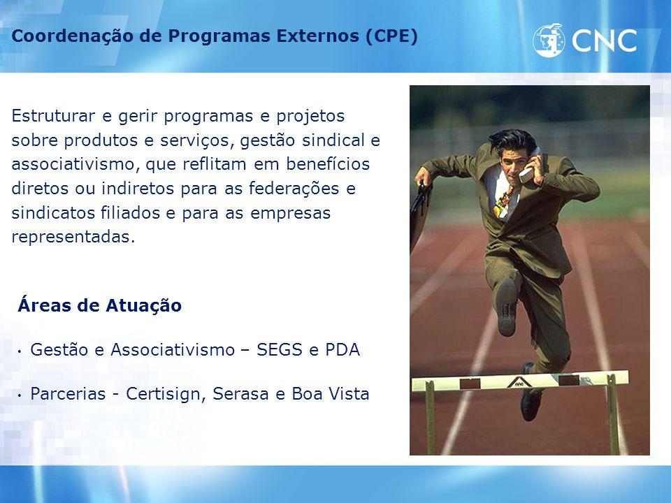 Coordenação de Programas Externos (CPE)