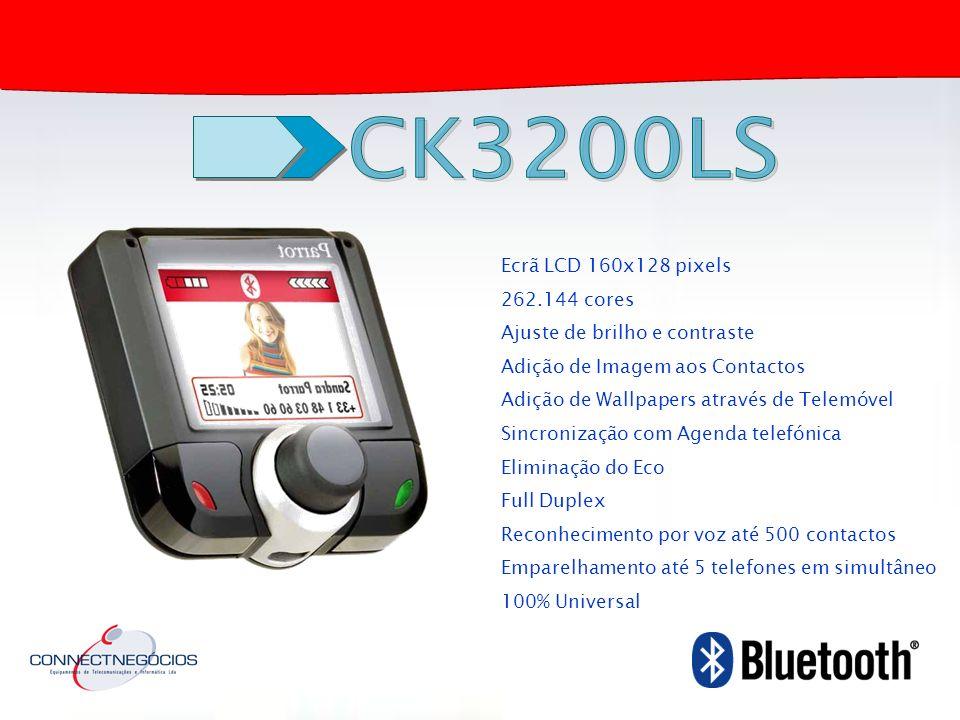 CK3200LS Ecrã LCD 160x128 pixels 262.144 cores