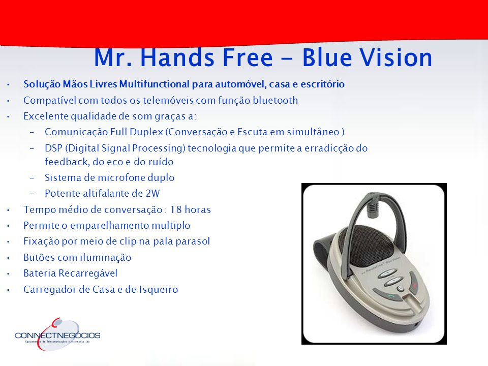 Mr. Hands Free - Blue Vision