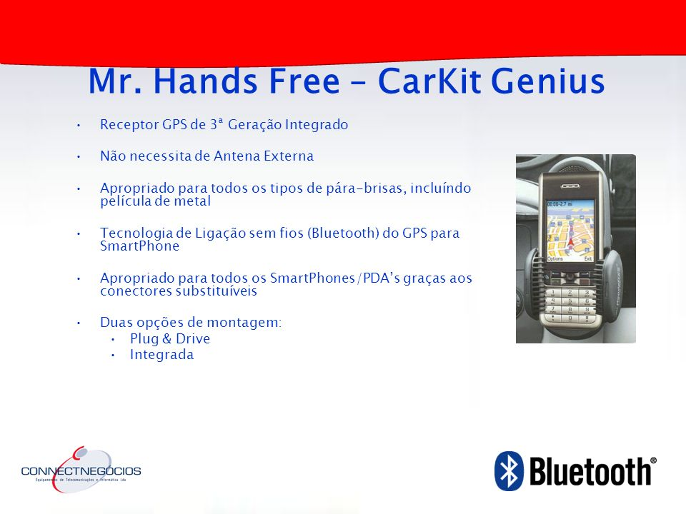 Mr. Hands Free – CarKit Genius
