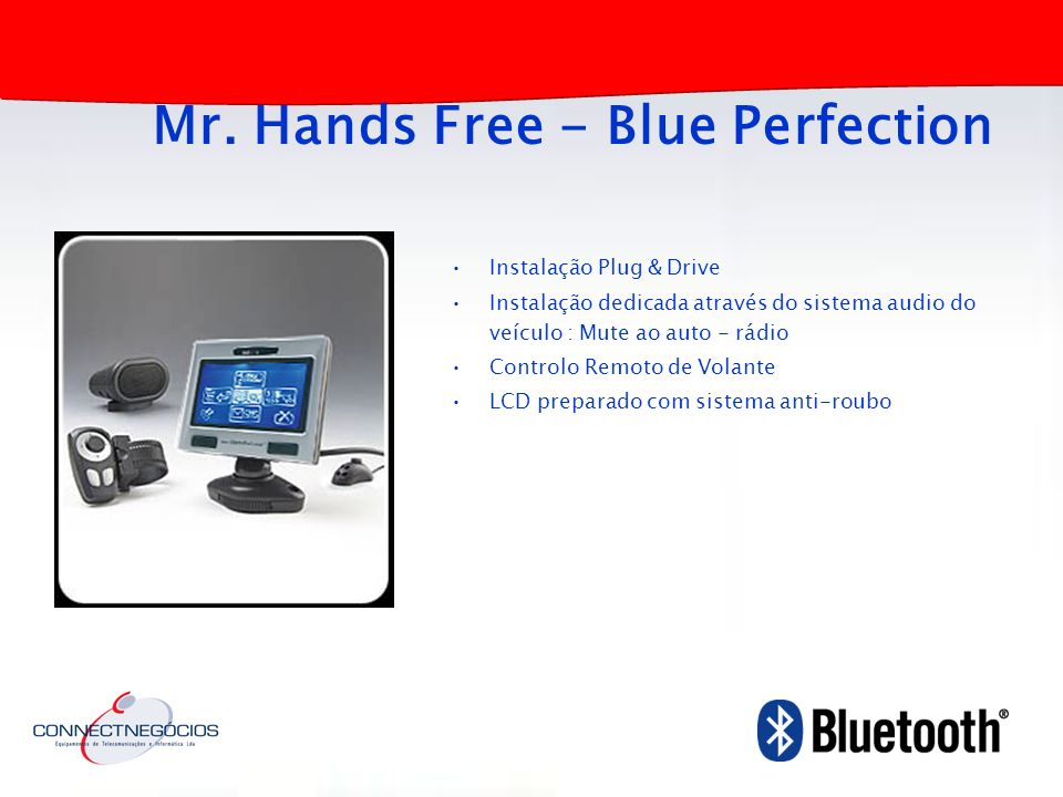 Mr. Hands Free - Blue Perfection