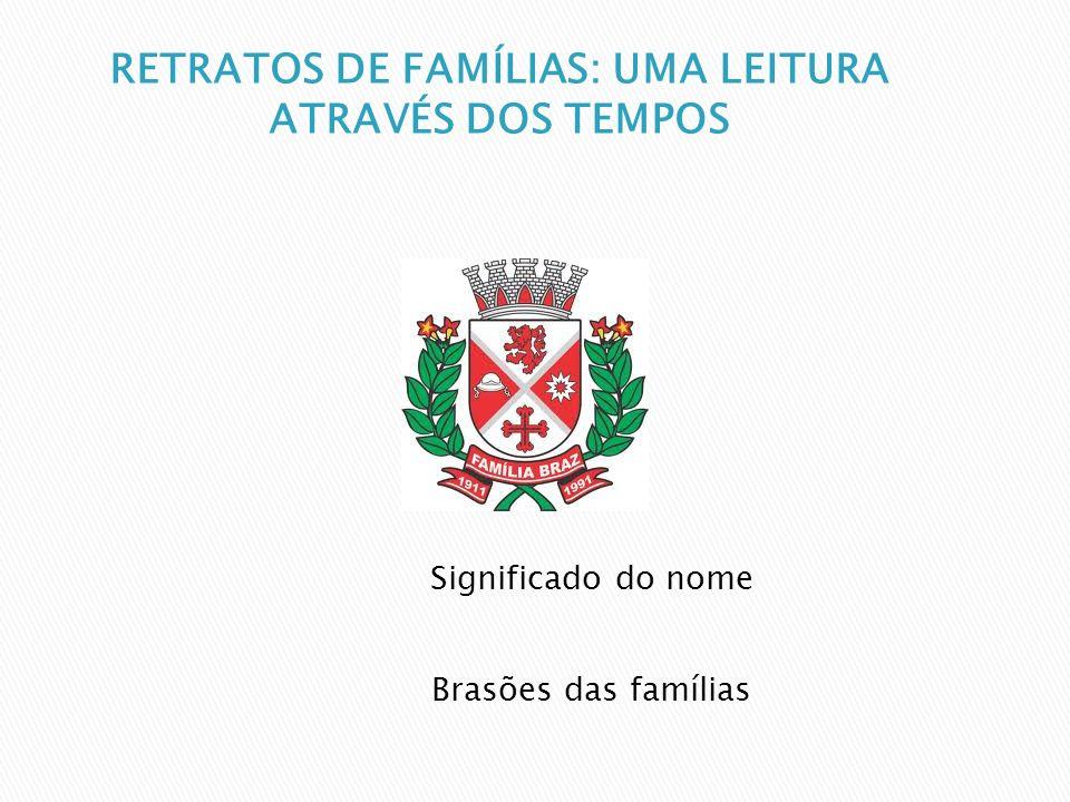 RETRATOS DE FAMÍLIAS: UMA LEITURA ATRAVÉS DOS TEMPOS