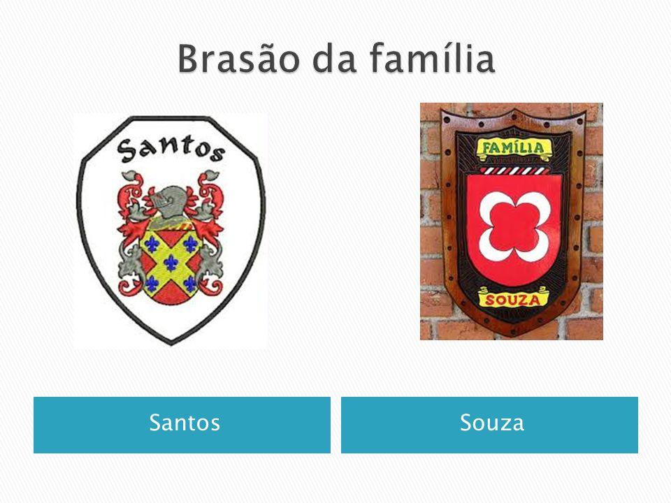 Brasão da família Santos Souza