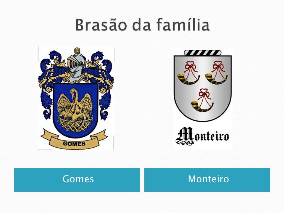 Brasão da família Gomes Monteiro