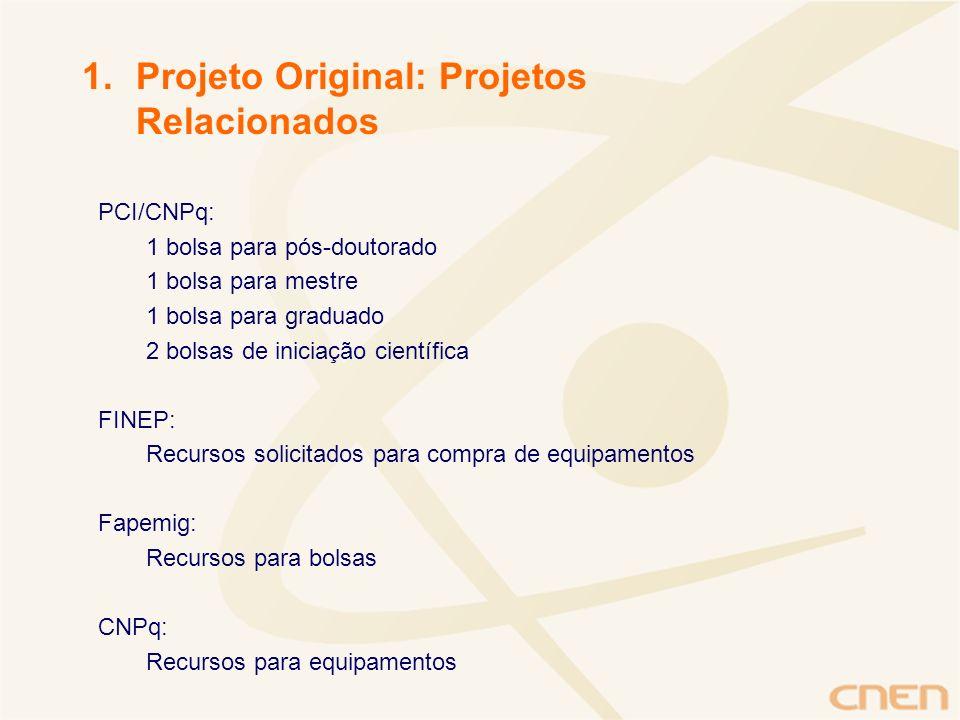 Projeto Original: Projetos Relacionados
