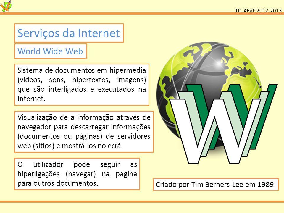 Serviços da Internet World Wide Web