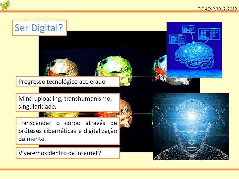Ser Digital Progresso tecnológico acelerado