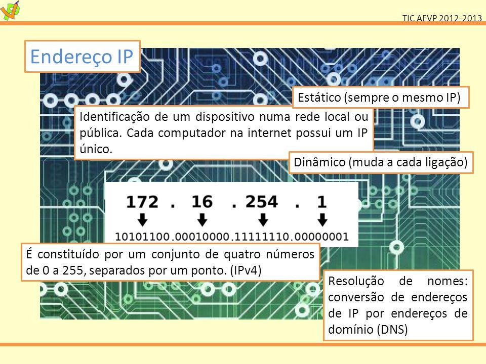 Endereço IP Estático (sempre o mesmo IP)