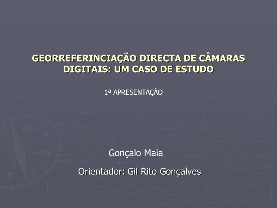 GEORREFERINCIAÇÃO DIRECTA DE CÂMARAS DIGITAIS: UM CASO DE ESTUDO