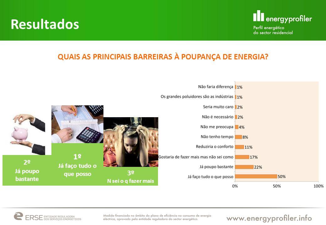 QUAIS AS PRINCIPAIS BARREIRAS À POUPANÇA DE ENERGIA