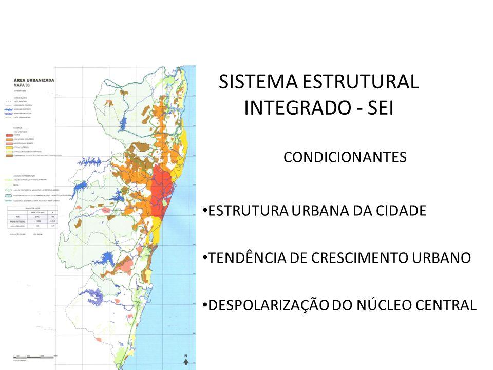 SISTEMA ESTRUTURAL INTEGRADO - SEI CONDICIONANTES