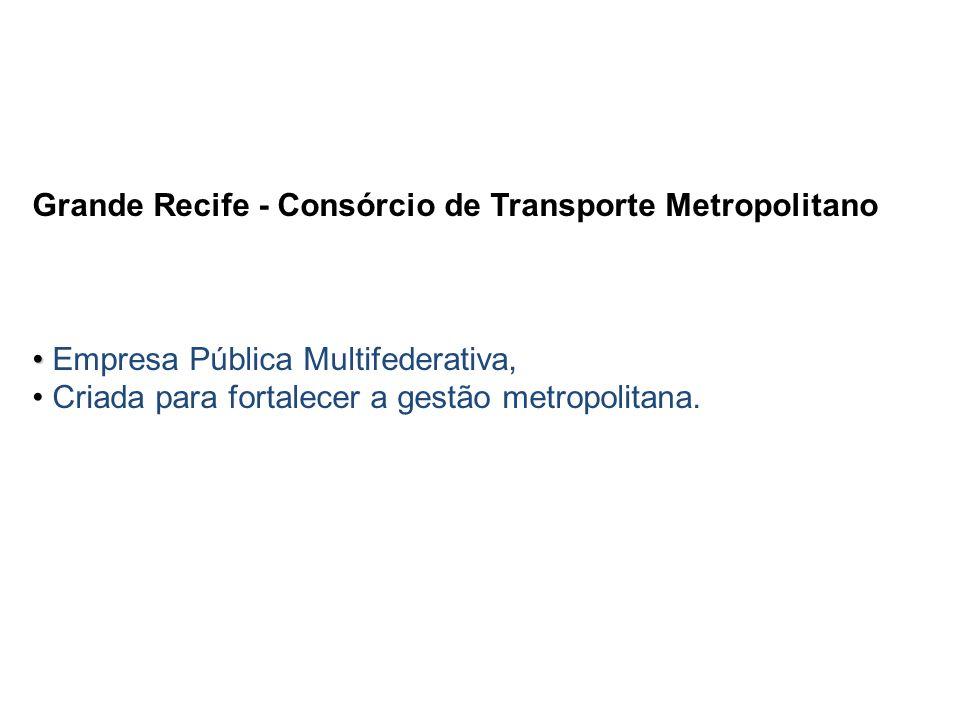 Grande Recife - Consórcio de Transporte Metropolitano